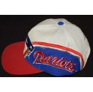 New England Patriots Cap Snapback Mütze Hat Vintage...