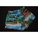 Erima Shorts kurze Hose Sport Pant Vintage All over print...