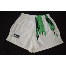 Asics Shorts Short Pant Vintage Laufen Joggen Fussball...