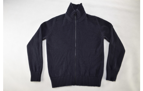 Stone Island Strick Pullover Jacke Pulli Sweater Jacket Knit Wolle Casual Gr. L
