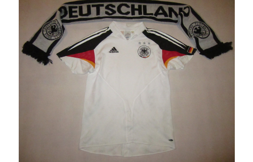 Adidas Deutschland Trikot Jersey DFB EM 2004  T-Shirt Maglia Camiseta D 176 Y XL
