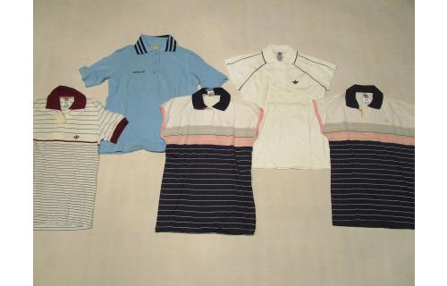 Adidas Polo Poloshirt Shirt Vintage Deadstock Tennis 80s 90s Damen 36 38 40 NEU