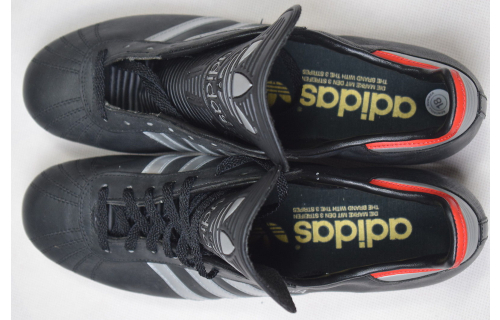 Adidas Roma Fussball Schuhe Soccer Shoes Leder Football Cleats West Germany 9.5