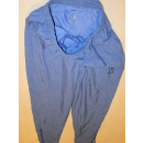 Adidas Trainings Hose Track Pant Jogging VTG Tennis Glanz Shiny Nylon Lila D 42