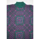 Australian by L`Alpina Pullover Sweatshirt Sweater Strick Knit Vintage 50 ca M-L