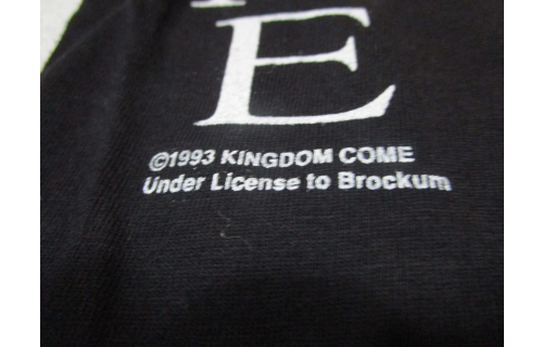 Kingdome Come Bad Image Tour Longsleeve Vintage T-Shirt TShirt Schwarz 1993 XL