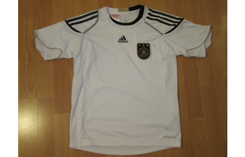 Adidas Deutschland Trainings Trikot Jersey DFB WM 10 T-Shirt Maglia Camiseta 152