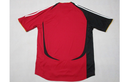 Adidas Deutschland Trikot Jersey DFB WM 2006 Maglia Camiseta Maillot Rot Red  L