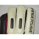 Adidas Fingersave Torwart Hand Schuhe Fussball Goal Keeper Gloves 2009 10.5 NEW