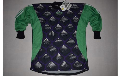 Adidas Torwart Trikot Goalkeeper Jersey Camiseta Maglia Maillot 90er Rocks S NEU