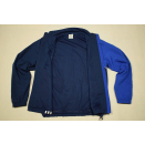 Adidas Trainings Jacke Sport Jacket  Track Top Soccer Mesh Casual Blau Weiß 6 M