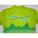 Bio Racer Fahrrad Trikot Rad Shirt Bike Jersey Maillot Tilff Bastogne  4 ca S- M
