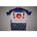 Diadora Fahrrad- Rad Trikot Jersey Maillot Camiseta Maglia Bianchi MOG  6 ca L