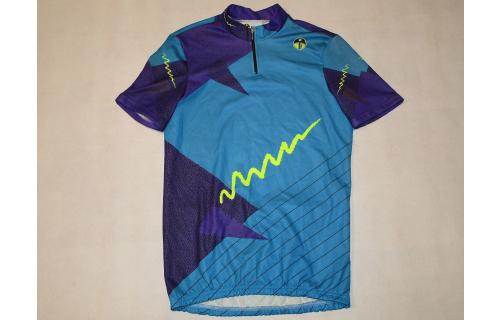 Eiesseei Fahrrad Trikot Camiseta Bike Jersey Maillot Vintage Deadstock  4 ca. M NEW