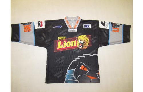 Frankfurt Lions Trikot Jersey Camiseta Metzen DEL 97/98 #32 Millar Eishockey M