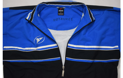 Masita Trainings Jacke Sport Jacket Vintage Oldschool Track Top Casual Clean S-M