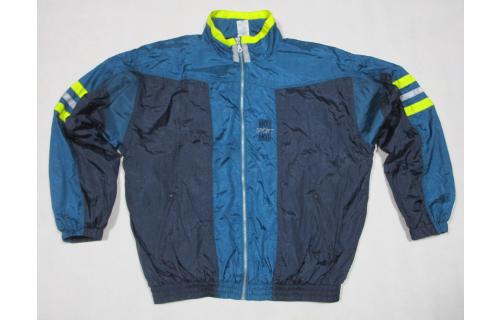 Trainings Jacke Sport Jacket Bad Taste Track Top Vintage Nylon Mesh Karneval  L