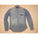 Wrangler Damen Jeans Hemd Shirt Longsleeve VTG Vintage...