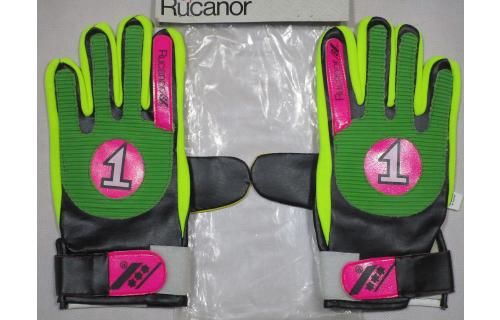 Rucanor G 130 Torwart Hand Schuhe Fussball Vintage Gant de Goal Keeper Gloves S