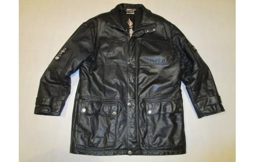 Adidas Leder Jacke Leather Jacket Olympic Centennial Collection St Moritz 1948 M