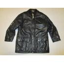 Adidas Leder Jacke Leather Jacket Olympic Centennial...