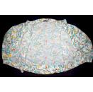 Jacke Windbreaker Jacket Track Top Sommer leicht Vintage 80s Bunt Fledermaus 36