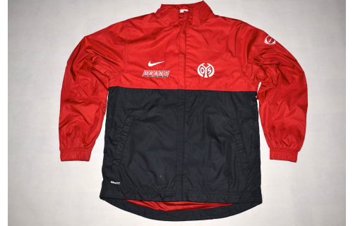 Nike FSV Mainz 05 Jacke Trainings- Sport Jacke Track Top Jacket Fussball Rot  S