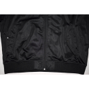 Coogi Trainings Jacke Sport Jacket Track Top Jumper Velour Schwarz Black 2XL XXL